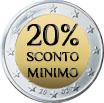 20% Sconto Minimo